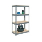 Heavy Duty, Wood-Shelved Units