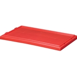 Stack and Nest Lid, 18 IN. L, 11 IN. W, 1 IN. H, Red, 35181RED
