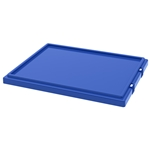 Stack and Nest Lid, 19-1/2 IN. L, 15-1/2 IN. W, 1 IN. H, Blue, 35191BLUE